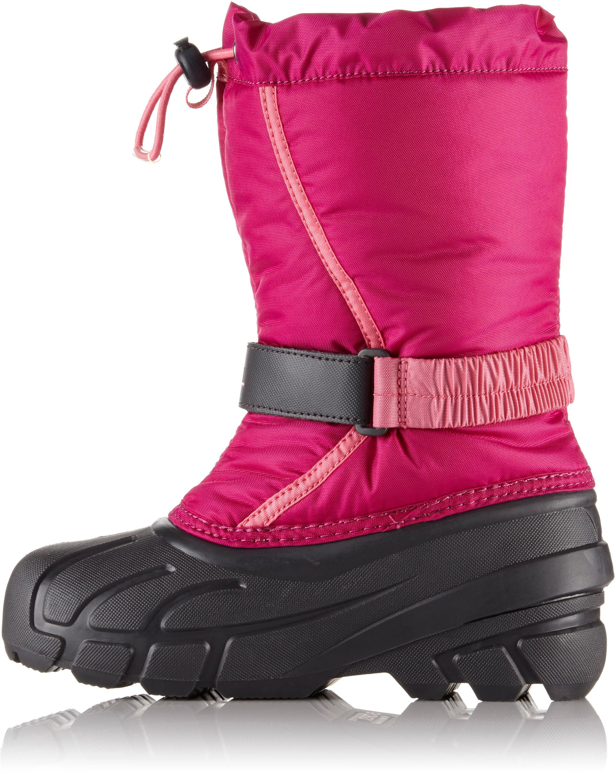 cb82730c Sorel Flurry Støvler Børn, deep blush/tropic pink | Find outdoortøj ...